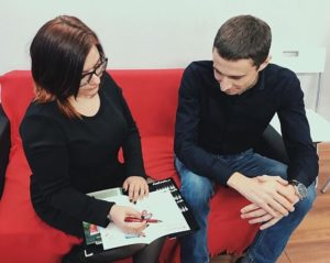 Алексей Нестеров и Янина Еремеева
