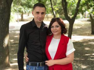Алексей Нестеров и Янина Еремеева Армель