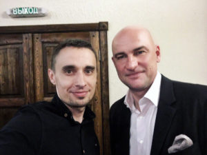Алексей Нестеров фото с Радиславом Гандапасом